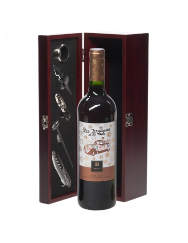 Wijncadeau Les Terrasses rood 1x75cl