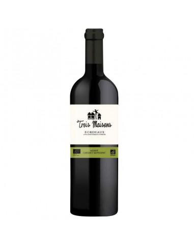 Rode wijn Trois Maisons Merlot...