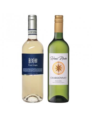 Wijnpakket wit 2x75cl