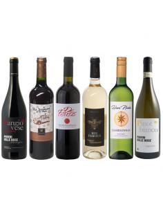 Wijnkist met 5 luxe accessoires