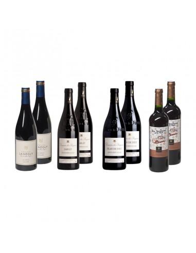 Wijnpakket Languedoc 8x75cl