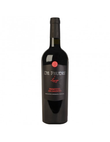 Rode wijn de Feudis primitivo del...