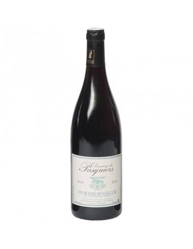 Rode wijn vin de pays de vaucluse