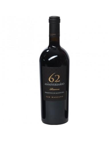 Rode wijn 62 anniversario riserva...