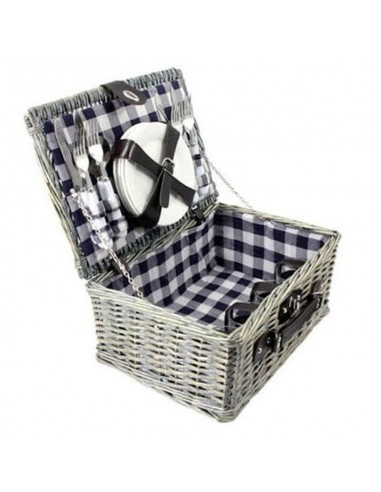 Picknickmand Ezio blauw