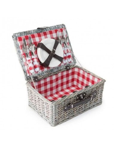 Picknickmand Ezio rood
