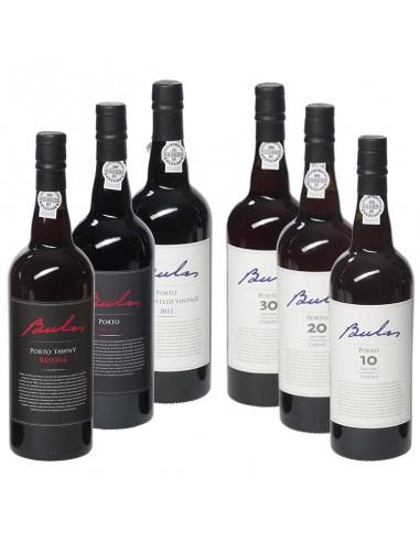 Wijnpakket Bulas 6x75cl