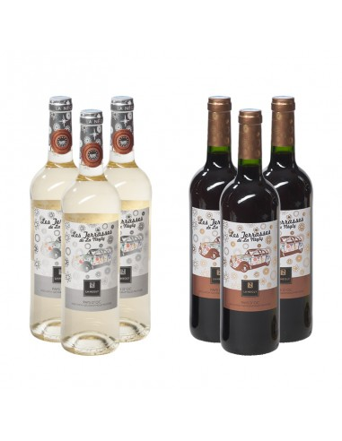 Wijnpakket Les Terrasses 6x75cl