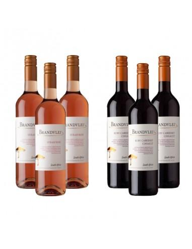 Wijnpakket Brandvlei 6x75cl