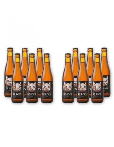 Bierpakket De poes blond 12x33cl