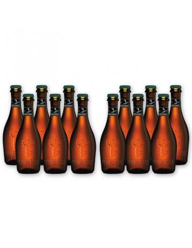 Bierpakket St Hubertus Amber 12x33cl