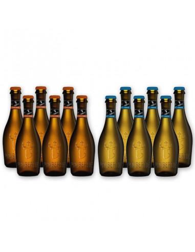 Bierpakket St Hubertus blond en wit...