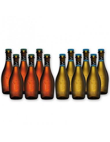 Bierpakket St Hubertus wit en Amber...