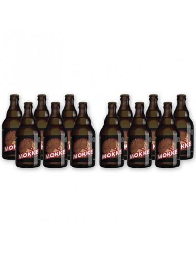Bierpakket Mokke bruin 12x33cl