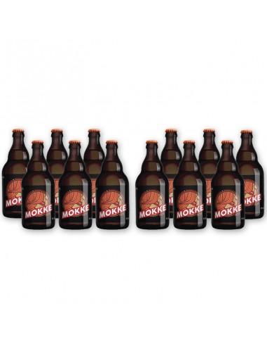 Bierpakket Mokke ros 12x33cl