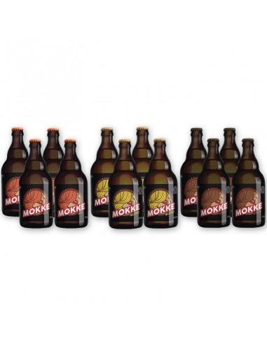 Bierpakket Mokke editie 12x33cl