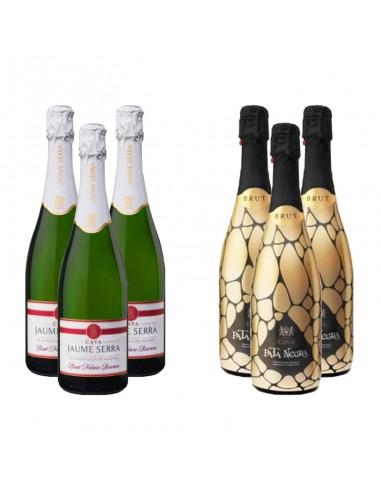Wijnpakket Spaanse bubbels 6x75cl